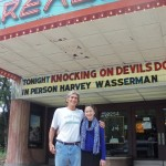 with Shoshie at the Drexel Theater, Bexley, Ohio