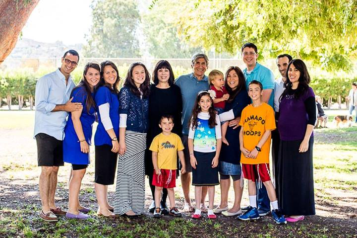 Wasserman Clan, Beaman Park, California, 2013
